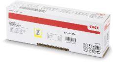 OKI Toner gelb HC C532 C542 MC563 MC573